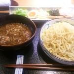 わ可ば - 海老出汁カレーつけ麺(1,300円)