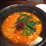 中国名菜 來杏 - 白ゴマ汁有り担担麺
