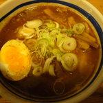 大勝軒 - チャーシューつけ麺(つゆ)