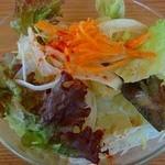Cafe GATE - ランチについているサラダです☆