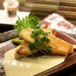 Dining TABI - 天然アマダイのウロコ焼き