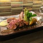 Dining TABI - 仔羊の低温ロースト 粒マスタード添え