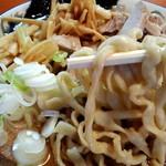 ケンチャンラーメン - 麺 アップ!