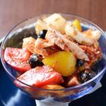 ブリック - タコと野菜のマリネ