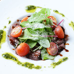 ブリック - 牛肉のタリアータ