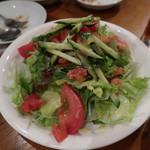 キャラヴァンサライ包 - 生野菜サラダ
