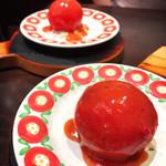 グリルキャピタル東洋亭 - 名物トマトサラダ。