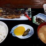 旅籠 ふじ - アユ塩焼き定食