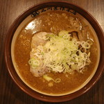 品川甚作本店 - 札幌すみれ風味噌ラーメン(890円、真上から)