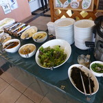 Cafe やぶさち - バイキングの前菜