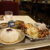 あくびカフェー - 料理写真:今回いただいた「あくびの給食ランチ」(2017.7.24)