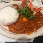 70505027 - 阪急百貨店アジアフェアーで食べた                       チリクラブライスです