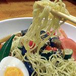 肉酒場298 - 料理写真:夏野菜の和風冷やしラーメン800円