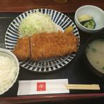70508551 - ロースカツ定食‼️