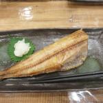 博多豊一長浜食堂 - ホッケの焼き物。
