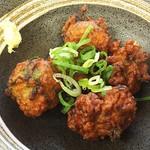TOKYO都庁議事堂レストラン - 飛魚のさつま揚げ