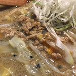 梅小町 - 野菜胡麻ラーメン