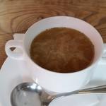 70509867 - オニオンスープ。旨い!