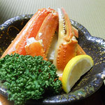 花つばき - 蟹