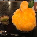 甘味喫茶 侘助 - 料理写真:梅みつみかん アイス無し