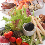 トルッキオ - お客様が素材を選ぶ…メニュー作りに参加できるレストラン