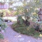 7052334 - この店も住宅をそのまま使ったお店なんで綺麗な庭を抜けてお店に向います。