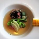 近江牛レストラン ティファニー - 前菜にも牛肉
