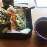 草允 わらび野 - 野菜天ぷら