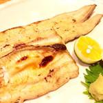 青葉 - ウナギの白焼き