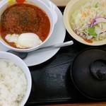 松屋 - 松屋 うまトマハンバーグ定食