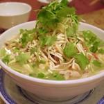 中國料理 聚寳園 - 楊州名物中国豆腐干の五目スープ煮込み