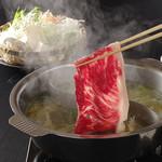 和食・鍋 しゃぶしゃぶ清水 - 料理写真:特選牛のしゃぶしゃぶは最高です。