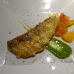 トラットリア クイント - 甘鯛のうろこ焼き