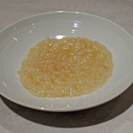 CINA New Modern Chinese - 残ったフカヒレの上湯スープで作ったリゾット