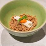 CINA New Modern Chinese - 雲丹と長芋の坦坦和え麺