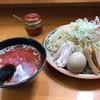 大國らーめん - 料理写真:辛つけ麺味玉メンマ 特盛 ¥1050