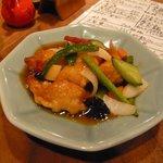 7053158 - 海老と野菜の甘酢あんかけ(950円)
