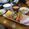 一力 - 料理写真:お刺身盛り合わせ定食☆