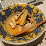石和川 - ごま豆腐