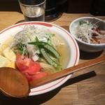 麺肴 ひづき - 冷やしレモンラーメン