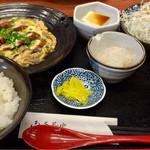 やゆよ・食事屋 - 日替定食 うなぎの柳川風 680円