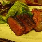 彌三郎 - 能登牛のイチボステーキ