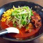 麺弥 七福鈴 - 「紅 (くれない)」(760円)。