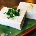 いその香り - 永田の手造り豆腐やっこ(440円)