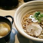 真道 - 【真道つけめん + 味玉】¥750 + ¥100