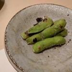 鮨みやもと - 焼き枝豆
