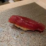 鮨みやもと - 握り ヅケマグロ