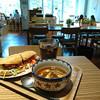 kohuku Sengawa - 料理写真:自家製ベーコンレタスサンドとごろっと野菜の牛スジシチュー