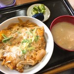 かわせ食堂 - 料理写真:カツ丼(750円)