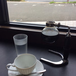70539371 - 1.5杯分、サイフォンのグラスもっと磨いて欲しいけど( ̄∀ ̄)